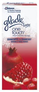 Glade by Brise One Touch Granatapfel & Cranberry, Nachfüllung 10ml 6er Pack