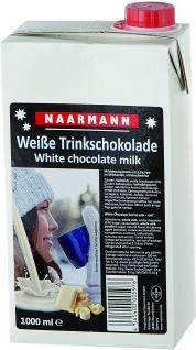 Naarmann weiße Trinkschokolade 3.5 Prozent Fett cremig 1000ml