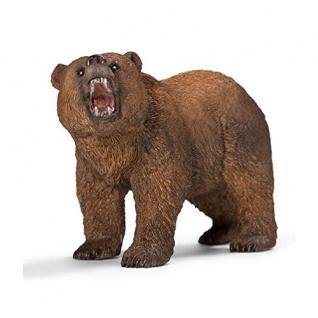 Schleich 14685 Grizzly Wild Life Spielfigur handbemalt detailgetreu