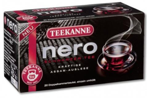 Teekanne Nero Schwarzer Tee kräftige Assam Auslese Stark 3er Pack