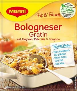 Maggi Fix f.Bologneser Gratin