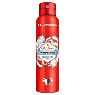 Old Spice Bodyspray Wolfthorn Manly Scent All Over Für Männer 150ml