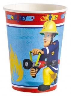 8 Becher Fireman Sam