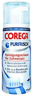 Corega Purfrisch Reinigungsschaum, 125ml
