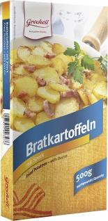 Bratkartoffeln mit Speck 500 g