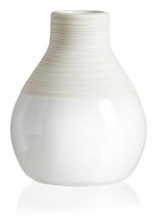 Ritzenhoff und Breker Vase bauchig aus der Serie Anna Keramik 12cm