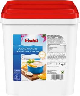 Frischli Joghurtcreme Melone lecker nach griechischer Art 5000g