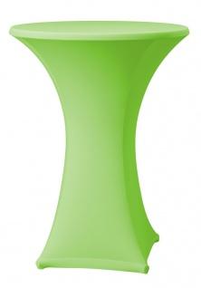 Dena Stehtischhusse Farbe grün schnelle und einfache Montage 80-85cm
