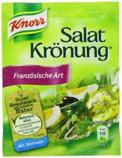Knorr Salatkrönung Kräuterdressing Französiche Art 10g 5 Stück