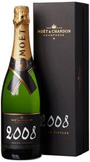 Moët & Chandon Grand Vintage Blanc 2006/2008 mit Geschenkverpackung (1 x 0.75 l)