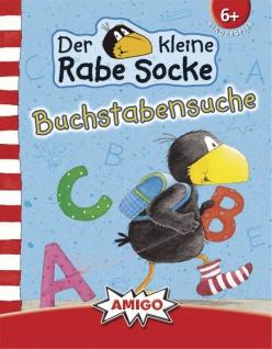 Amigo Spiel Rabe Socke Buchstabensuche spannendes von Rabe Socke