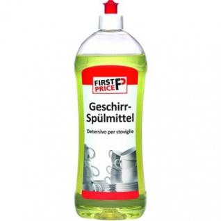 First Price Handgeschirrspülmittel grün reinigt gründlich 1000ml