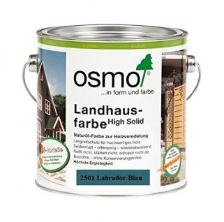 Landhausfarbe labradorblau 2500ml