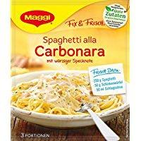 Maggi fix & frisch Spaghetti Alla Carbonara Beutel Inhalt 34g