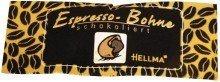 Schokolierte Espressobohnen Temperamentvolle Kaffee-Bohne im Schokomantel