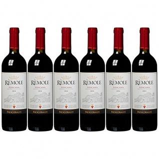 Frescobaldi Remole Toscana fruchtig würziger Rotwein 750ml 6er Pack
