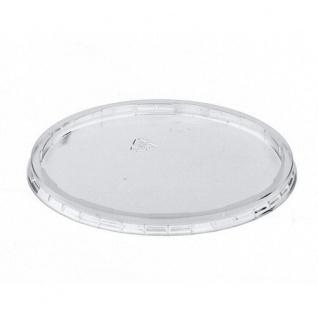 PAPSTAR Deckel für Verpackungsbecher rund transparent 100 Stück