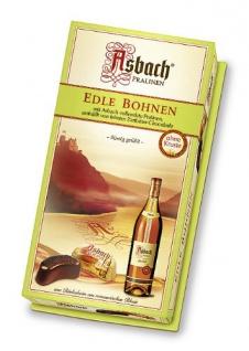 Asbach Pralinen Edle Bohnen ohne Kruste Zartbitter 100g 2er Pack