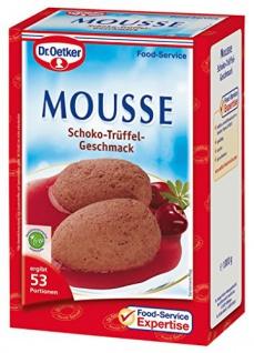 Dr. Oetker Mousse Schokotrüffel-Geschmack, 1er Pack (1 x 1000 g)