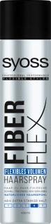 Syoss Fiber Flex Flexibles Volumen Haarspray kein Verkleben 400ml