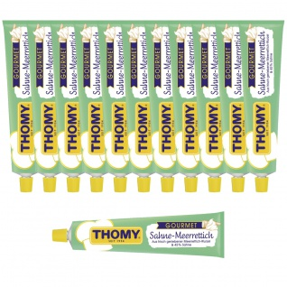 Thomy Gourmet Sahne Meerrettich mild cremiger Geschmack 190g 12er Pack