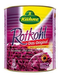 Kühne Rotkohl - Das Original, 10200 ml Dose, 1er Pack (1 x 9.2 kg)