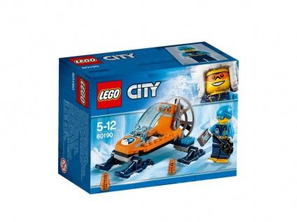 Lego City 60190 Arktis-Eisgleiter Erforsche die Geheimnisse unter dem Eis