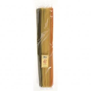 Casa Rinaldi Italiaanse Spaghetti 50cm Arlecchino in 3 Farben 1000g