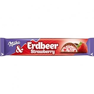 Mondelez Milka Riegel Choco Erdbeer 36er Pack