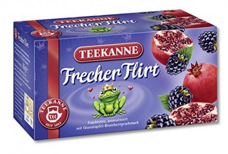 Teekanne Frecher Flirt Granatapfel mit Brombeeraroma 3er Pack