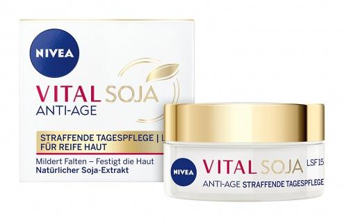 Nivea Tagespflege Vital Soja Anti Age LSF 15 mildert Falten 50ml