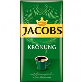Jacobs Krönung Original Filterkaffee Gemahlener Spitzenkaffee 500g