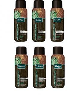 Kneipp Aroma-Pflegeschaumbad Männersache, 6er Pack (6 x 400 ml)