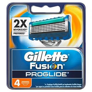 Gillette Fusion ProGlide Rasierklingen 4 Stück