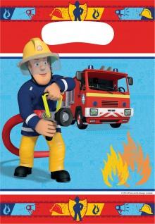 8 Partytueten Fireman Sam