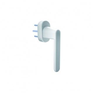 Schellenberg Sicherheits Alarmgriff für Fenster 37mm in weiß