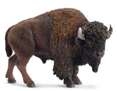 Schleich Wild Life 14714 aus Kunststoff Bison Büffel Minifigur