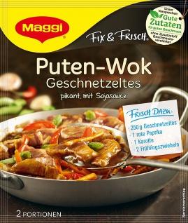 Maggi fix & frisch für Puten-Wok Geschnetzeltes
