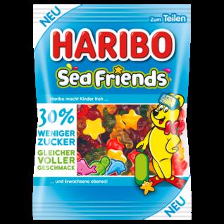 Haribo Sea Friends 30% weniger Zucker - Gleicher voller Geschmack 160g