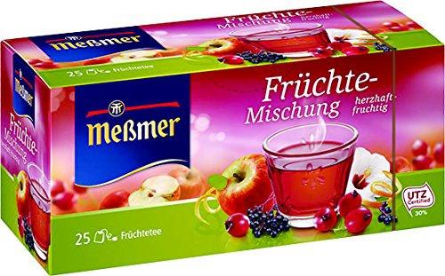 Meßmer Früchte Mischung 25 einzeln verpackte Doppelkammerbeutel