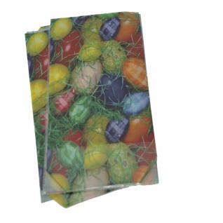 Schmuckbeutel mit Ostereier Motiv Easter Bag mit Boden 145 x 235mm