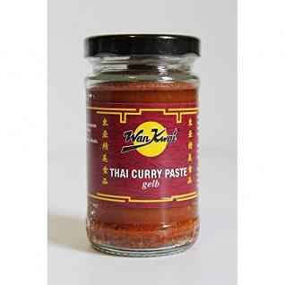 Wan Kwai Thai Curry Paste gelb Gewürzpaste roter Chili 110g
