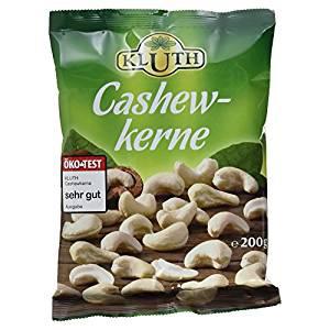 Kluth Cashewkerne, 200 g