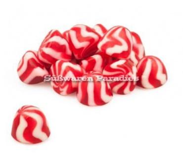 Fruchtgummi Strawberry Erdbeer Cream Tops Erdbeer Creme Halal 1000g
