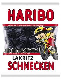 Haribo Lakritz Schnecken der Süßholzwurzel Klassiker von Haribo 200g