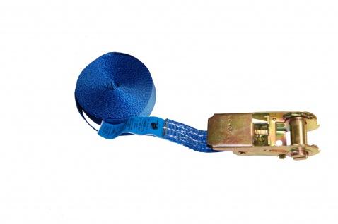 Zurrgurt 5mx25mm 800kg 1-tlg blau