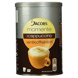 Jacobs Cappuccino Kaffee Dose entkoffeiniert, 220 g