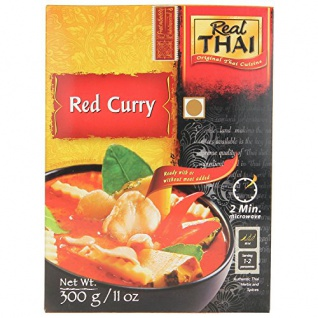 Real Thai Rotes Curry mit Gemüse, 3er Pack (3 x 300 g)