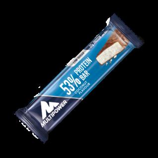 53% Protein Bar Riegel mit Milchschokoladenüberzug Coconut 50g