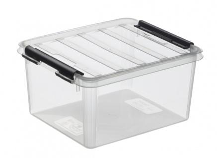 Hobby Box 2 m. Deckel transparent
